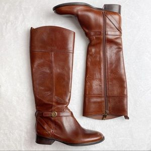 Tory Burch Sz 8 Leather Equestrian Riding Boots